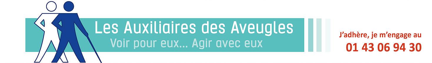 Auxiliaires des aveugles logo